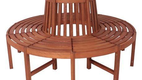 Zahradní lavice z eukalyptového dřeva ADDU Fontana