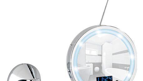 Nástěnné zvětšovací zrcadlo s LED světlem a rádiem Wenko Imperial