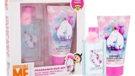 Minions Unicorns dárková kazeta toaletní voda 75 ml + tělové mléko 150 ml