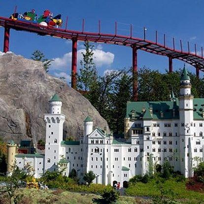 1denní prázdninový nebo sváteční zájezd pro 1 do německého LEGOLANDU