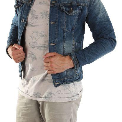 Pánská jeansová bunda 98-86