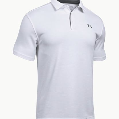 Tričko Under Armour Tech Polo Bílá