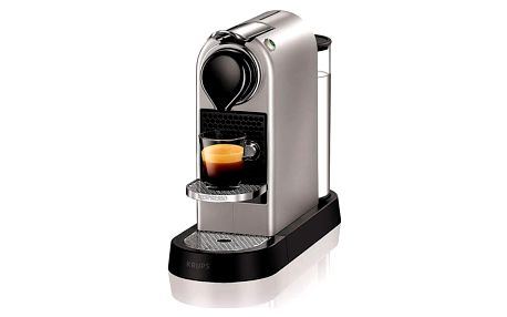 Espresso Krups Nespresso Citiz XN740B10 titanium