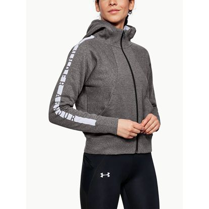 Mikina Under Armour Better Europe Fleece Fz Šedá