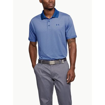 Tričko Under Armour Performance Polo Novelty Modrá