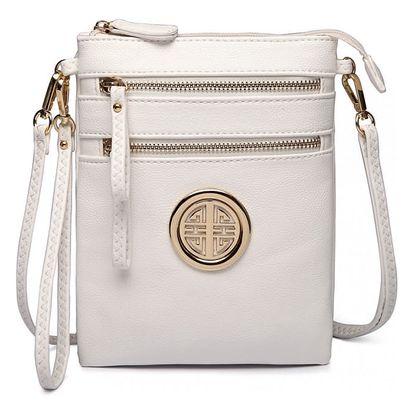 Dámská bílá kabelka Yasin 1417