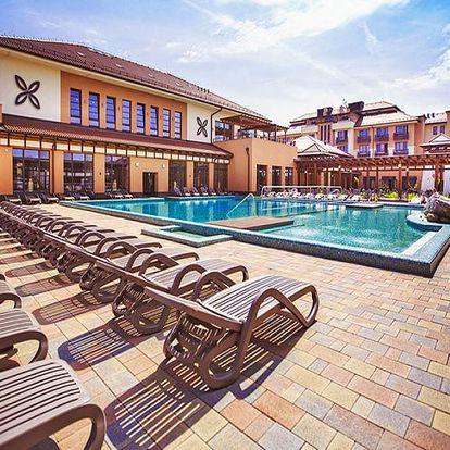 Maďarské lázně Bük v luxusním 4* hotelu s neomezeným wellness, fitness a polopenzí