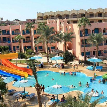 Egypt - Hurghada na 8 až 9 dní, all inclusive s dopravou letecky z Prahy