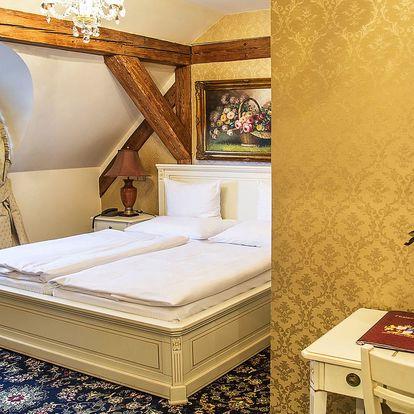 Pobyt na zámku: 5* apartmán, wellness i večeře