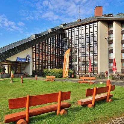 Prázdninový pobyt ve Wellness hotelu Svornost v Harrachově (8 dní / 7 nocí)