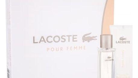 Lacoste Pour Femme 50 ml dárková kazeta dárková sada pro ženy parfémovaná voda 50 ml + tělové mléko 100 ml