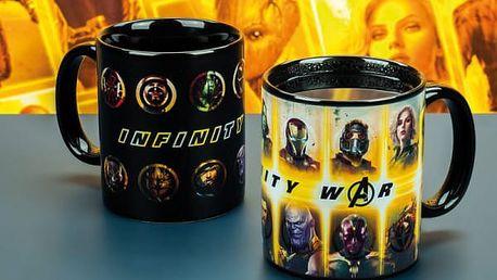Hrnek reagující na teplo Marvel Infinity War