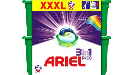 ARIEL Color 3v1 – gelové Kapsle (56 ks)