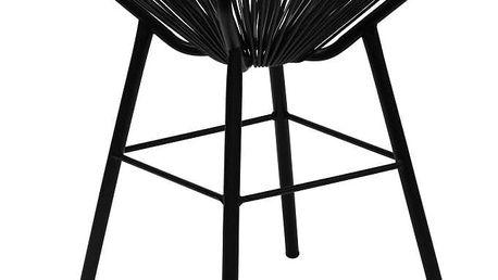 Černý odkládací stolek Red Cartel Sumatra