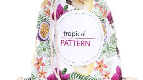 Fashion Icon Sportovní vak Topical Pattern