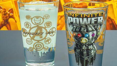 Sklenice Marvel Infinity War 400 ml