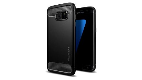 Kryt na mobil Spigen Rugged Armor Samsung Galaxy S7 Edge černý (HOUSAGAS7ESPBK1)