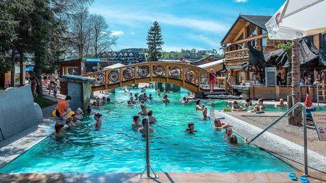 Relax v polských termálech Gorąco Potok s 22 bazény