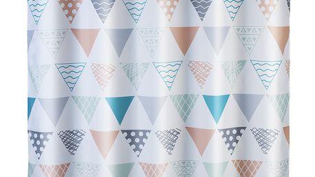 Sprchový závěs Ethno Flexi, textilní, 180x200 cm, WENKO Wenko