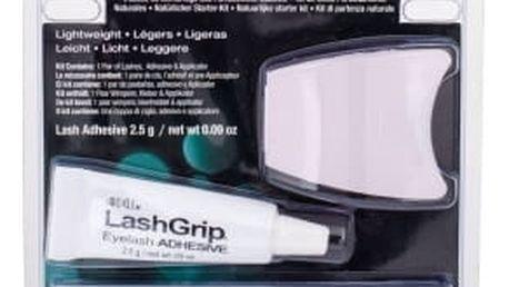 Ardell Natural dárková kazeta pro ženy umělé řasy Demi Wispies 110 1 pár + lepidlo na řasy 2,5 g + aplikátor Black
