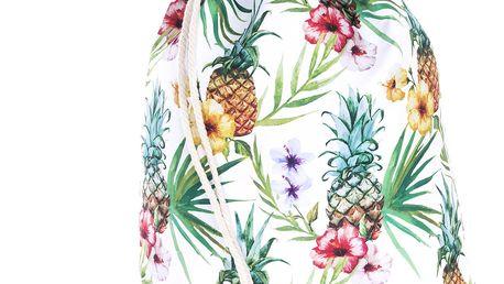 Fashion Icon Sportovní vak Pineapples barevný