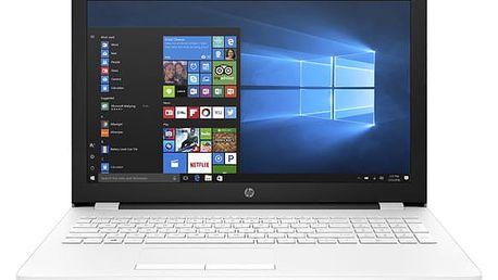 Notebook HP 15-bw051nc bílý + dárky (2CN91EA#BCM)