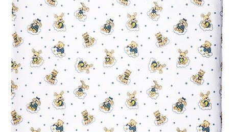 Jahu Dětské bavlněné povlečení do postýlky Zvířátka, 90 x 130 cm, 40 x 60 cm