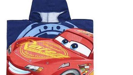 Poncho-Ručník s kapucí Cars 57174