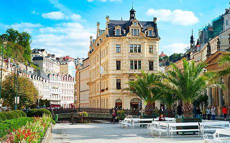 Slavné Karlovy Vary relaxačně ve 4* hotelu s neomezeným wellness, polopenzí a balíčky zajímavých procedur
