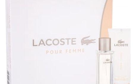 Lacoste Pour Femme 50 ml dárková kazeta pro ženy parfémovaná voda 50 ml + tělové mléko 100 ml