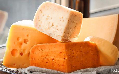 Kozí mix pro labužníky: 4× 100 g skvělých sýrů