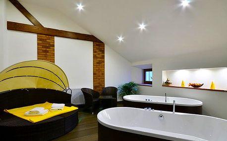 3denní wellness pobyt pro 2 s polopenzí v hotelu Malý Pivovar**** u Českého ráje