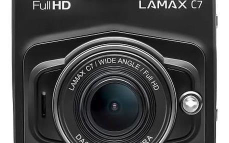 Autokamera LAMAX C7 černá + dárek
