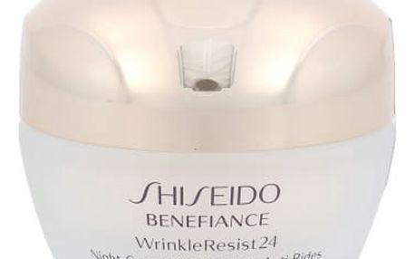 Shiseido Benefiance Wrinkle Resist 24 50 ml noční pleťový krém proti vráskám pro ženy