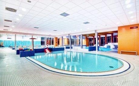 3–6denní wellness pobyt s polopenzí pro 1 či 2 + 1 dítě v hotelu Slezan v Jeseníkách