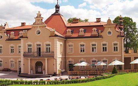 Rodinný pobyt na zámku: snídaně a plno aktivit