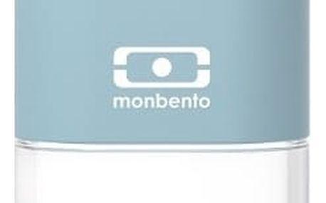 Světle modrá lahev na vodu Monbento Positive,300ml