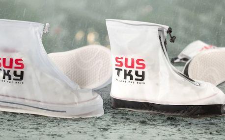 Wow! Zkuste šustky: nepromokavý obal na boty