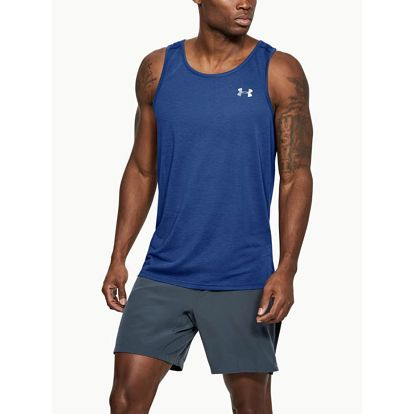 Tílko Under Armour Threadborne Streaker Singlet Modrá
