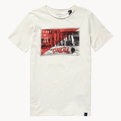 Tričko O´Neill Lb Foto S/Slv T-Shirt Bílá