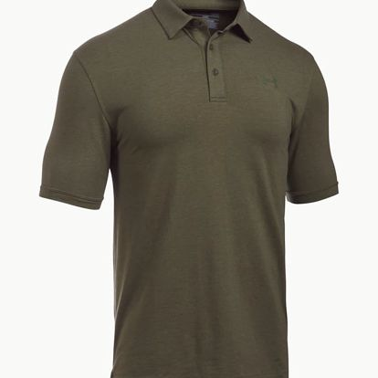 Tričko Under Armour Tac Cc Polo Zelená