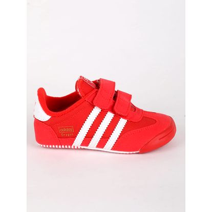 Boty adidas Originals DRAGON L2W CRIB Červená