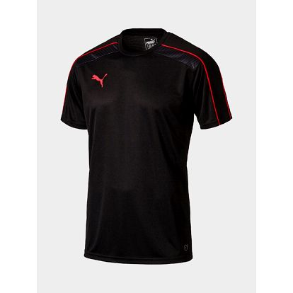 Tričko Puma IT evoTRG Training Tee Black-Red Bl Černá