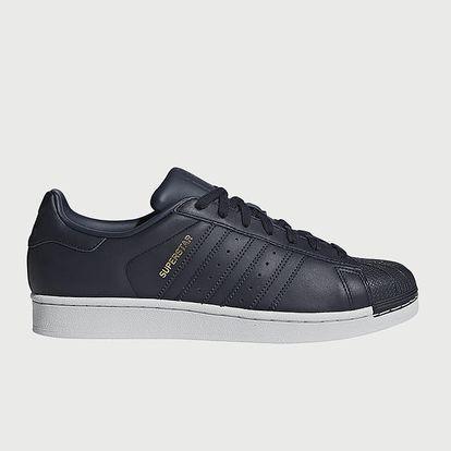 Boty adidas Originals Superstar Modrá