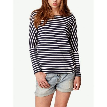 Tričko O´Neill LW JACKS BASE STRIPED TOP Barevná