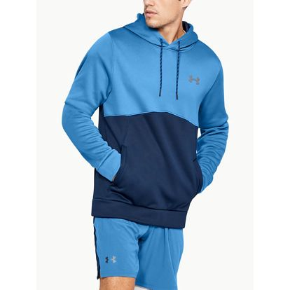 Mikina Under Armour Af Icon Solid Po Hood Modrá