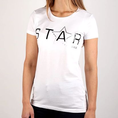 Tričko GAS Halis Star Bílá