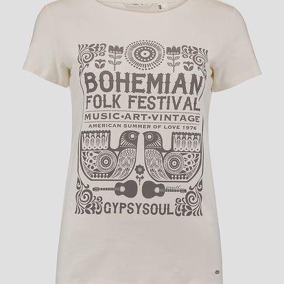 Tričko O´Neill LW BOHO FESTIVAL T-SHIRT Bílá