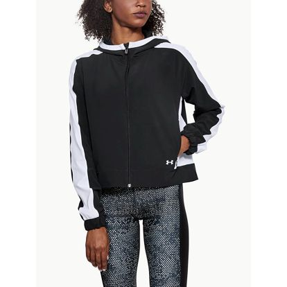Bunda Under Armour Storm Woven Fz Jacket Černá