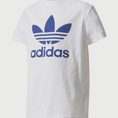 Tričko adidas Originals L TREFOIL TEE Bílá
